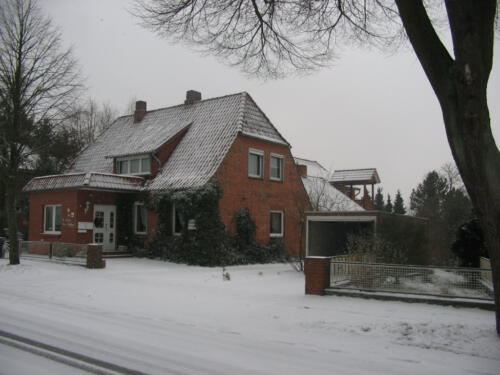 Pension im Winter